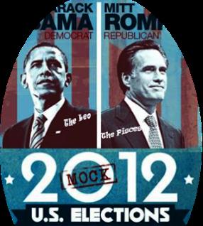 US Elections, Romney, Obama, Leo, Pisces